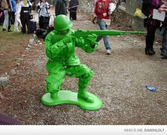 """Just when I thought they didn't make the """"Army Men"""" any more..."""