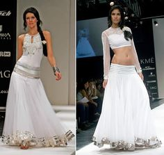 WeddingSutra Editors' Blog » Blog Archive » Anita Dongre does sexy ethnic evening wear for LFW