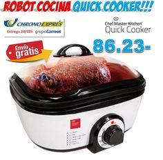 #cocina #electrodomesticos #hogar #regalos #utensilios #ofertas #descuentos #compras Robot de cocina Quick Cooker http://www.yougamebay.com/es/product/comprar-robot-de-cocina-quick-cooker---electrodomesticos