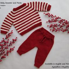 PDF Knitting Pattern Calendula Baby Pants 0-24 Months | Etsy Baby Knitting Patterns, Baby Cardigan Knitting Pattern, Kids Knitting, Easy Knitting, Knitting Projects, Winter Baby Clothes, I Cord, Baby Coat, Tejidos