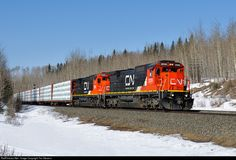 RailPictures.Net Photo: CN 2039 Canadian National Railway GE C40-8 (Dash 8-40C) at Edson, Alberta, Canada by Tim Stevens