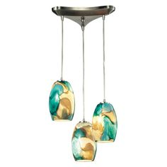 Found it at Wayfair - Surreal 3 Light Pendant