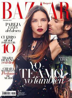 Adriana Lima for Harper's Bazaar Argentina - November 2013