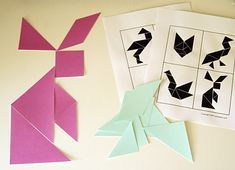 printable tanagrams