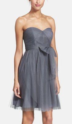 Gorgeous grey dress by Jenny Yoo