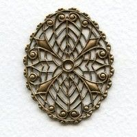 filigrees Brass (12) - VintageJewelrySupplies.com