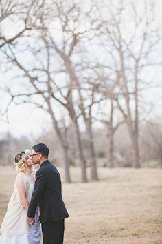 Pecan Grove Wedding Photography, Salt Lick, Austin Wedding Photographer, Texas hill country wedding photos, natural light photography, floral wreath   (c) Lahra Bryant Photography www.lahrabryant.com