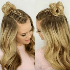Oktoberfest hairstyles for Oktoberfest - 20 newest braids .- Oktoberfest-Frisuren für das Oktoberfest – 20 neueste Flecht- und Trachtenfrisu… Oktoberfest hairstyles for Oktoberfest – 20 newest braids and traditional hairstyles – Braided hairstyles – - Latest Braided Hairstyles, Braided Hairstyles Tutorials, Box Braids Hairstyles, Natural Hairstyles, Hairstyle Ideas, Braids Tutorial Easy, Traditional Hairstyle, Light Hair, Braid Styles