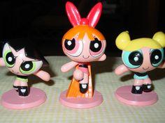 Cartoon Network Powerpuff Girls Buttercup Blossom Bubbles Cake Toppers 2 12 | eBay
