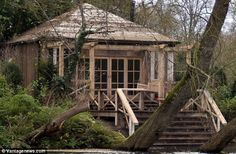 Praise: One local resident said the builders had 'used reclaimed wood and built it in a cl...