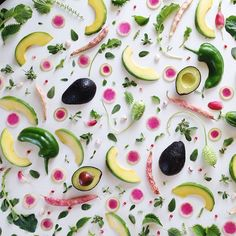Amazing food pattern
