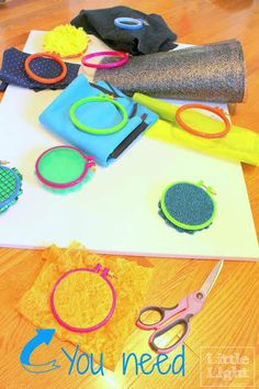 Easy Do It Yourself Sensory Wall - Little Light Design Collective