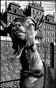 © Douglas Smith / Scratchboard