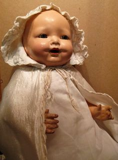 """19"""" Composition Baby Brite Mama Doll by Madame Hendren"""