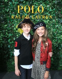 Pan movie star, Levi Miller, and dancer, Maddie Ziegler, make their runway debut at the 2015 RL Kids fashion show. Shop their looks straight from the runway: Ralphlauren.com/kidsfashionshow