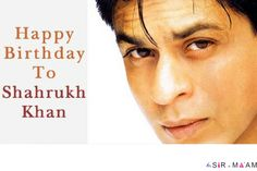 Sir N Maam Wishes A Very Happy Birthday To The King Of Romance!! #shahrukhkhan #bollywoodcelebrities #kingkhan