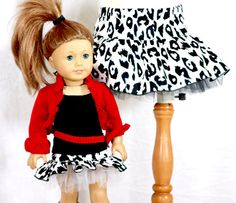 Hey, I found this really awesome Etsy listing at http://www.etsy.com/listing/166164447/american-girl-doll-and-matching-girl