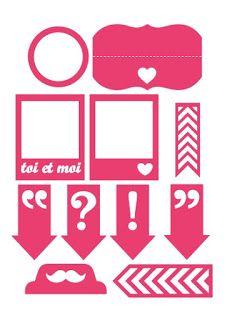 """Free cut file, by Anne Marie Hensmans (download where it says """"Pour télécharger, c'est ici"""""""