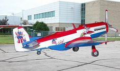 Fourth of July P-51 Mustang