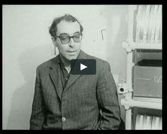 """""""Qu'est-ce que la mise en scène : Jean-Luc Godard"""" (1969) Réalisé par Jean-Paul Török  Une leçon (politique)…"""