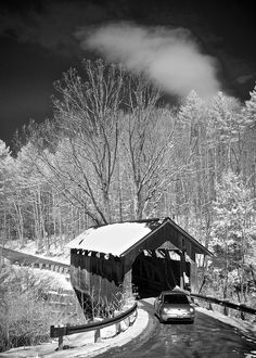 Seguin Covered Bridge in Charlotte, Vermont, USA www.discoververmontvacations.com