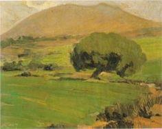 "New artwork for sale! - "" Landscape Of Attica by Lytras Nikolaos "" - Landscape Artwork, Landscape Design, Fine Art Amerika, Greek Paintings, Virtual Art, 10 Picture, Greek Art, Art Database, Western Art"