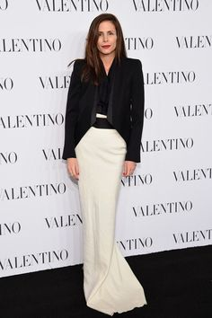 Valentino Sala Bianca 945 Event - Arrivals - Celebrity Fashion Trends