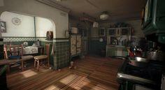 ArtStation - Kitchen 1930 (UE4), Michał Kubas