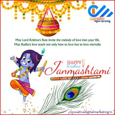 May the natkhat Nandlal always give you many reasons to be happy. Happy Janmashtami to all!