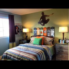 40 best skateboard bedroom images skateboard furniture skateboard rh pinterest com