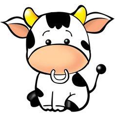 Tu vi ngay cho tuoi Suu va tuoi Dau by Lan Hương Cartoon Cow, Cute Cartoon Animals, Cute Animals, Cow Pictures, Baby Pigs, Cow Art, Cute Cows, Cute Animal Drawings, Disney Drawings