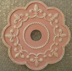 PRINCESS Royal Fluer De Lis Ceiling Medallion by MarieRicci
