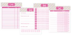 http://iheartplanners.com/2015-sweet-life-printable-planner/ 2015 Sweet Life Planner Pages
