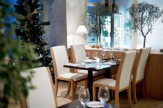 Galerie | RESTAURANT BLUE WAGON Dining Table, Blue, Furniture, Home Decor, Decoration Home, Room Decor, Dinner Table, Home Furnishings, Dining Room Table
