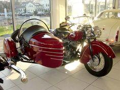 1946 Inidan Chief Motorcycle