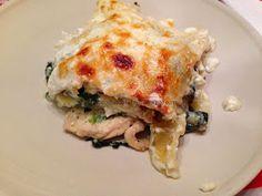 O Feitiço da Cozinha: Lasanha de Frango com Espinafres e Feta