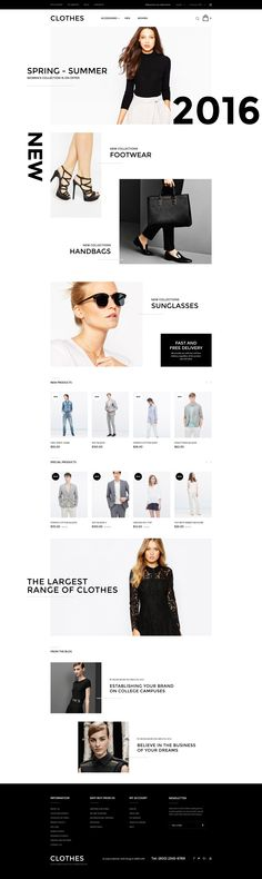 Dresses Online Magento Theme http://www.templatemonster.com/magento-themes/clothes-store-magento-theme-57789.html