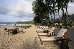 Sheridan Beach Resort & Spa - a luxury resort right on Sabang Beach, Puerto Princesa, Palawan, Philippines
