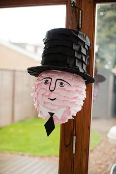 Sir Topham Hat Piñata.
