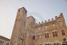 Historical building in Ascoli Piceno