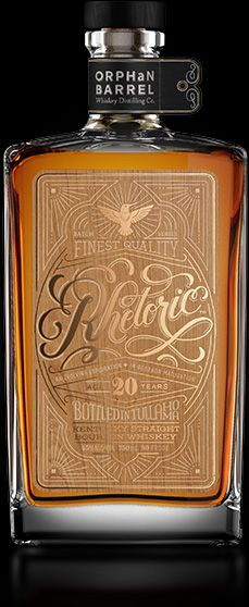 Rhetoric 20 yrs. Bourbon Whiskey