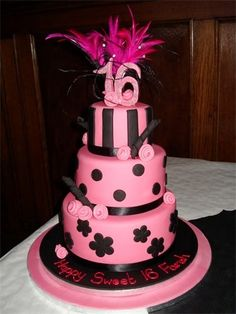 Sweet 16 Birthday Cake Ideas | sweet 16 cake | Olivias birthday ideas | Pinterest