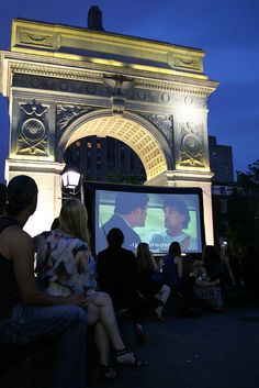 Films on the Green Festival French Film Festival, Riverside Park, Free In French, Washington Square Park, American Literature, French Films, Parks And Recreation, Central Park, New York City