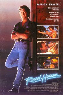 ROADHOUSE: Directed by Rowdy Herrington. With Patrick Swayze, Kelly Lynch, Sam Elliott, Ben Gazzara. A tough bouncer is hired to tame a dirty bar. 80s Movies, Action Movies, Great Movies, Watch Movies, Awesome Movies, Famous Movies, See Movie, Film Movie, Nostalgia
