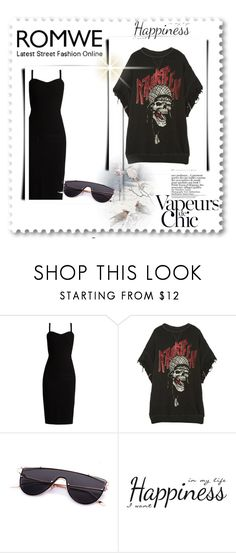 """""""Romwe"""" by multithask ❤ liked on Polyvore featuring MaxMara, R13, Anja and York Wallcoverings"""