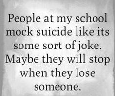 Exactly. They LAUGHED, I teared up. The bullying video we watched. Her getting bullied, laugh, me, :'o her getting out a gun, Laugh gasp. Me :'(