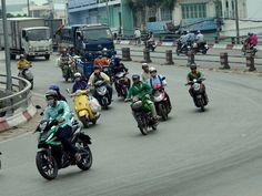 Yolanda Travels: Chaos drogowy w Wietnamie?
