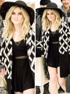 perrie edwards' style is flawless.