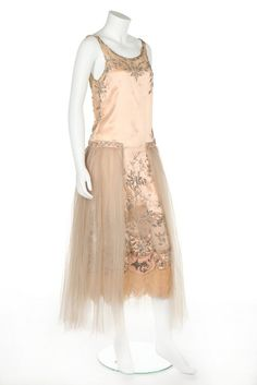 Evening dress ca. 1922-24 From Kerry Taylor Auctions