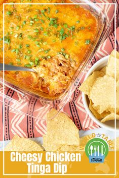 Learn How To Make The Cheesy Chicken Tinga Dip Recipe From Festival Foods